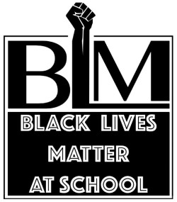 Black Lives Matter At Shool logo